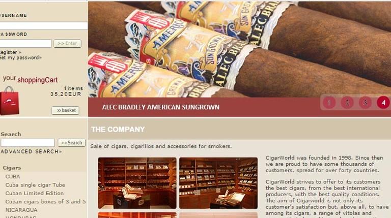 Zigarren Online Händler Portugal