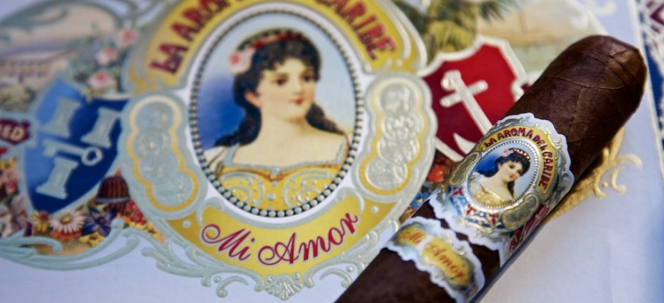 La Aroma del Caribe Mi Amor Valentino mit Logo